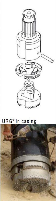 URG in the dirt